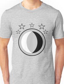 Yin Yang Moon Unisex T-Shirt