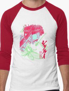 Neon Shigurui Men's Baseball ¾ T-Shirt