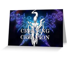 Pokemon-Creating Creation  Greeting Card