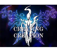 Pokemon-Creating Creation  Photographic Print