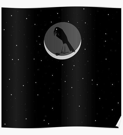 Mooncorvid Poster