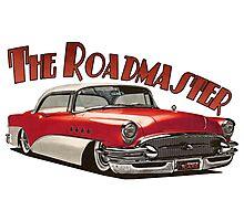 1955 Buick Roadmaster - Red 2 Photographic Print