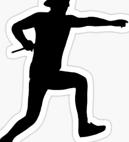 Josh Dun Silhouette Sticker