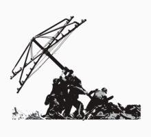 Americana - raising the Hills hoist Kids Tee