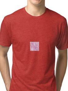 Lil Pink Shapes Tri-blend T-Shirt