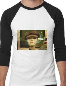 woman Men's Baseball ¾ T-Shirt