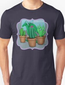 "Dragon ""Hiding"" with Cacti T-Shirt"