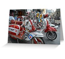 scooters Greeting Card