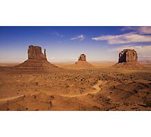 Valley of Monument  Photographic Print
