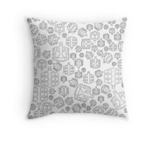 Limited Edition: Peddling a Storm Throw Pillow
