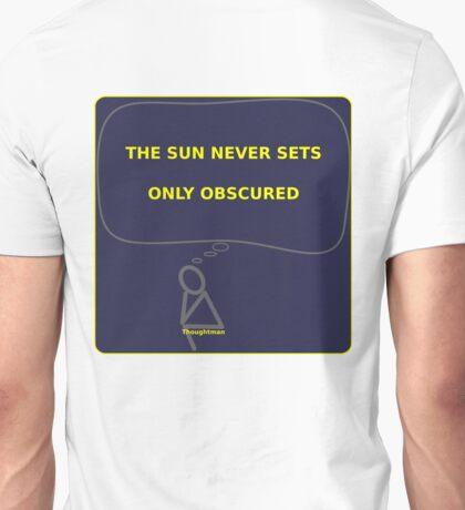 Thought Man - Sunset Unisex T-Shirt