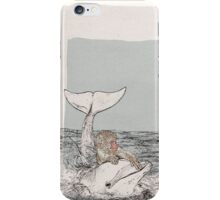 The Monkey and the Dolphin  An Aesop's Wetnose Fable iPhone Case/Skin