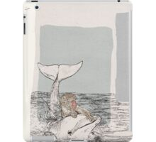 The Monkey and the Dolphin  An Aesop's Wetnose Fable iPad Case/Skin