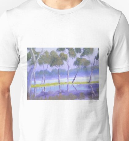 Red River Gums on the mashlands of the Murray River Unisex T-Shirt