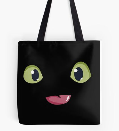 Toothless Night Furry Tote Bag