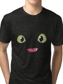 Toothless Night Furry Tri-blend T-Shirt
