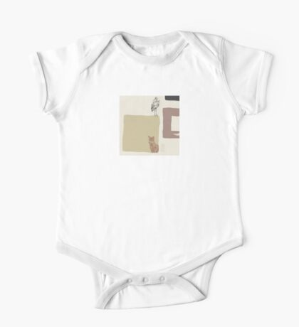 The Fox and the Stork  An Aesop's Wetnose Fable One Piece - Short Sleeve