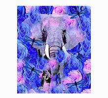 ELEPHANT AND FLOWERS Unisex T-Shirt