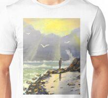 Rock Fishing at Wombarra Unisex T-Shirt