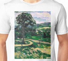 1881 - Paul Cezanne - The Tree by the Bend Unisex T-Shirt
