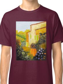 Tuscany Courtyard Classic T-Shirt