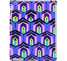 Retro 70s Pattern Purple iPad Case/Skin
