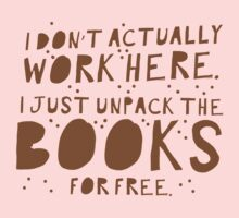 I don't actually work here! I just unpack the books for free One Piece - Long Sleeve