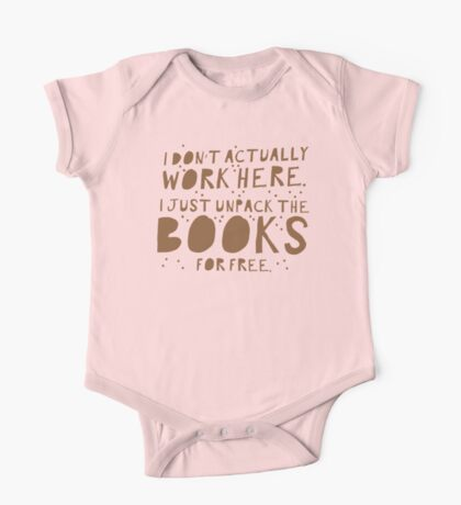 I don't actually work here! I just unpack the books for free One Piece - Short Sleeve