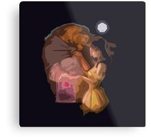 The Beauty and The Beast Metal Print