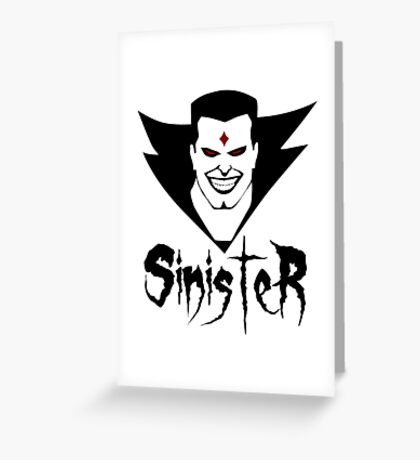 Sinister Greeting Card