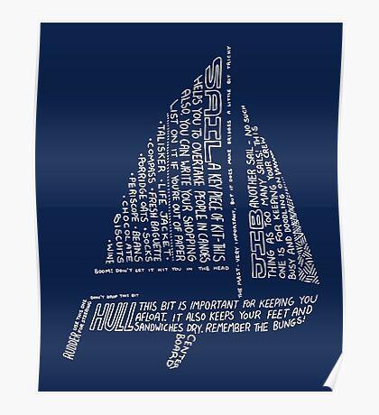 Sailing Tips Poster