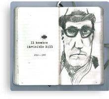 Invisible Bill Canvas Print