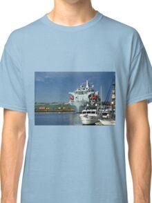 RFA Argus at Falmouth Docks Classic T-Shirt