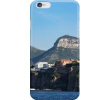Sailing to Sorrento, Perched Atop Imposing Cliffs on the Bay of Naples, Italy iPhone Case/Skin