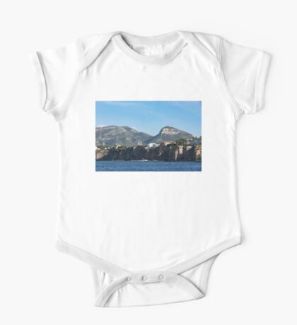 Sailing to Sorrento, Perched Atop Imposing Cliffs on the Bay of Naples, Italy One Piece - Short Sleeve