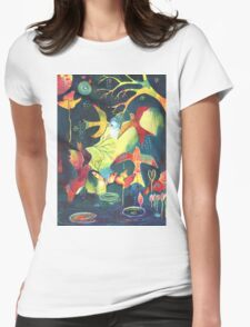 Arise - beautiful birds soaring Womens Fitted T-Shirt