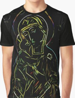 """Modern Monk: """"Ave Maria"""" Graphic T-Shirt"""