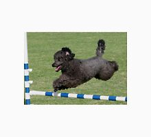 Poodle Jumping for Joy Unisex T-Shirt