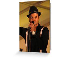 Guy Sebastian - Entertainer Greeting Card
