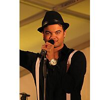 Guy Sebastian - Entertainer Photographic Print