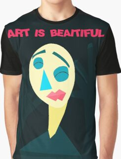 Art is Beaitiful Graphic T-Shirt