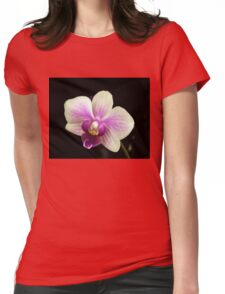 Smiling Orchid Womens Fitted T-Shirt