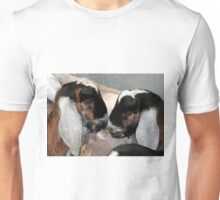 Anglo Nubian Twins Unisex T-Shirt