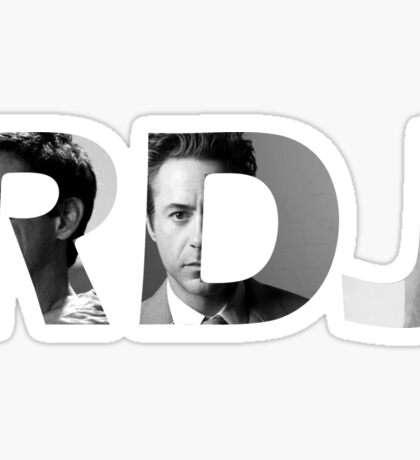 Robert Downey Jr - RDJ Sticker