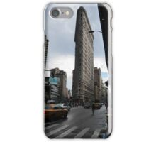 The Flat Iron and the Yellow Cab - New York in a Nutshell iPhone Case/Skin