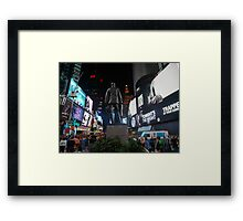 Tonight's the Night in Times Square Framed Print