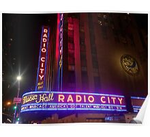 The Lights of Radio City Poster
