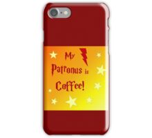 My Patronus is Coffee! iPhone Case/Skin