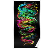 Color your life! Rainbow, Music, Trance, Techno, Rave, Goa, Holi Festival Poster