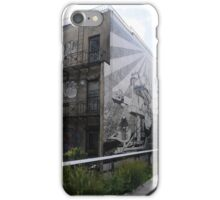 Street Art House from the High Line iPhone Case/Skin